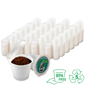 iFIllCup Pods, 288 Count, BPA Free, Made of 100% Number 5 Polypropylene, Fill Your Own Pods
