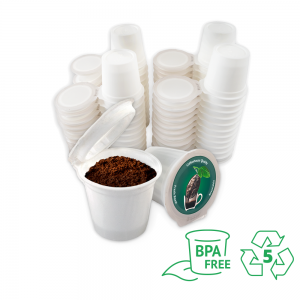 iFIllCup K Cup Pods, 48 Count, BPA Free, Made of 100% Number 5 Polypropylene, Fill Your Own Coffee Pods