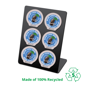 iFillCup 6 Pod Holder, Made of 100% Recycled, Number 5 Polypropylene
