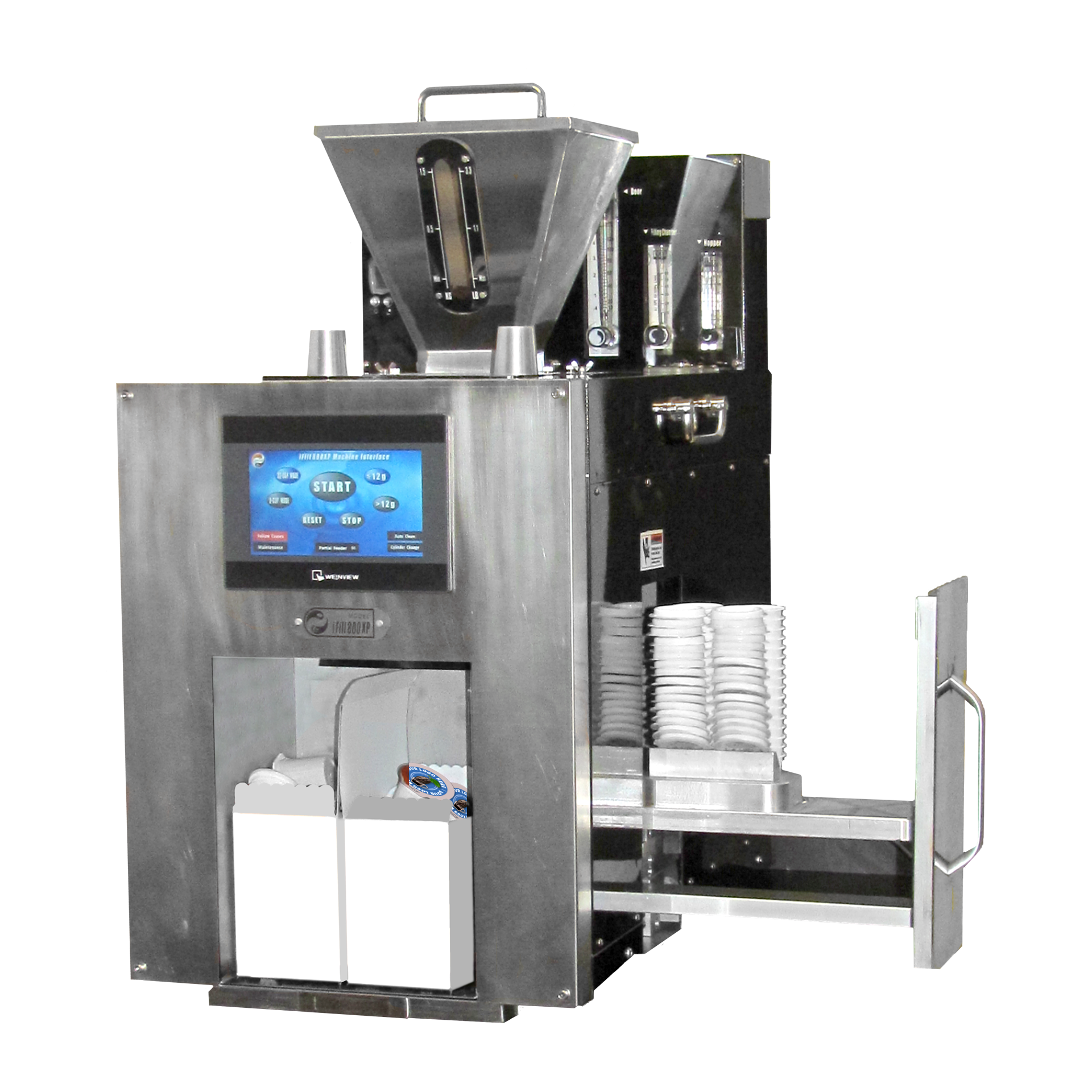 iFIllSystems, iFill800xp, Automatic Filling Machine