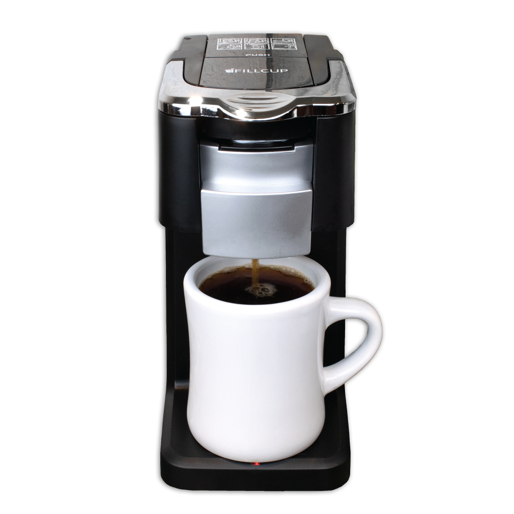 i360 Brewer with Ceramic Coffee Cup with Coffee