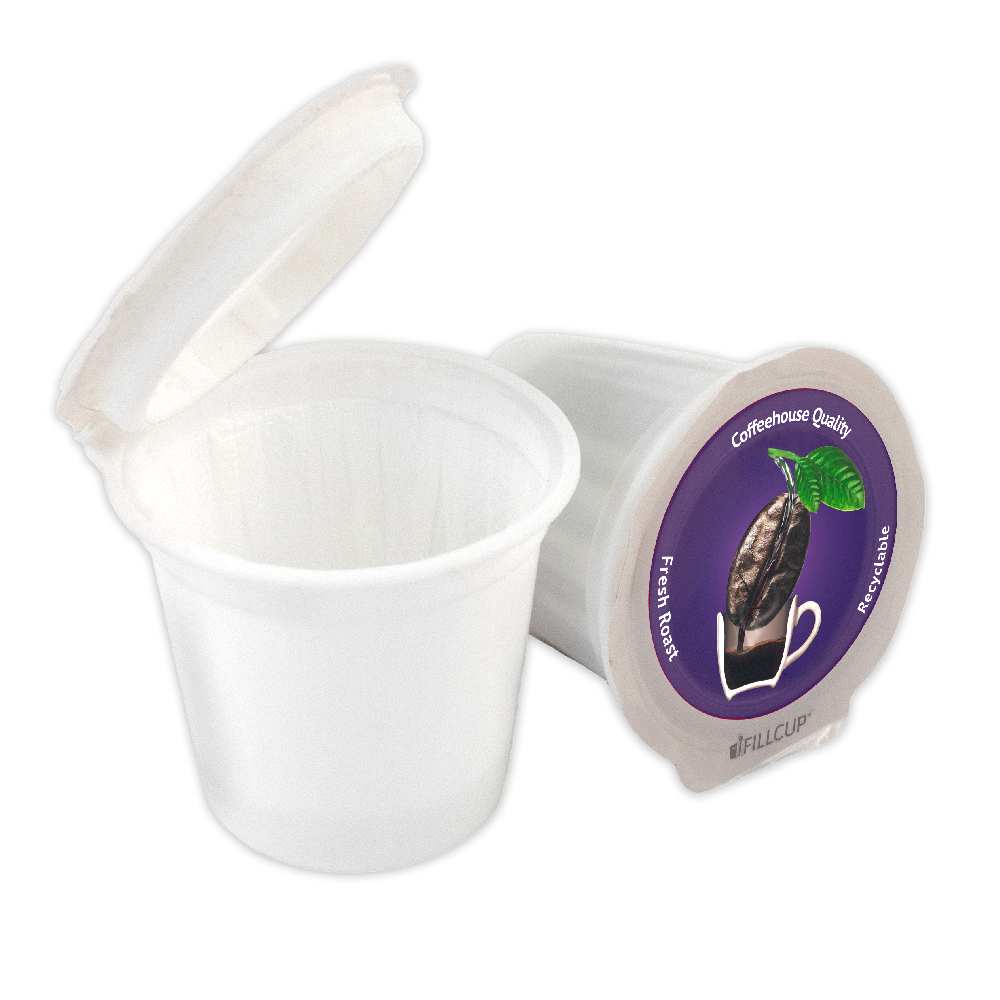 iFillCup, Fillable K Cup Coffee Pod, Purple Lid