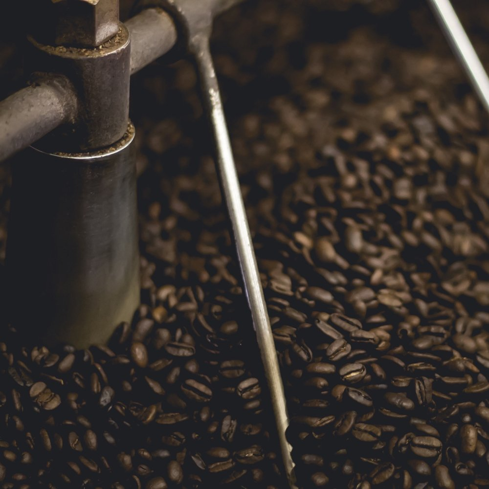 Roaster and Coffee Beans