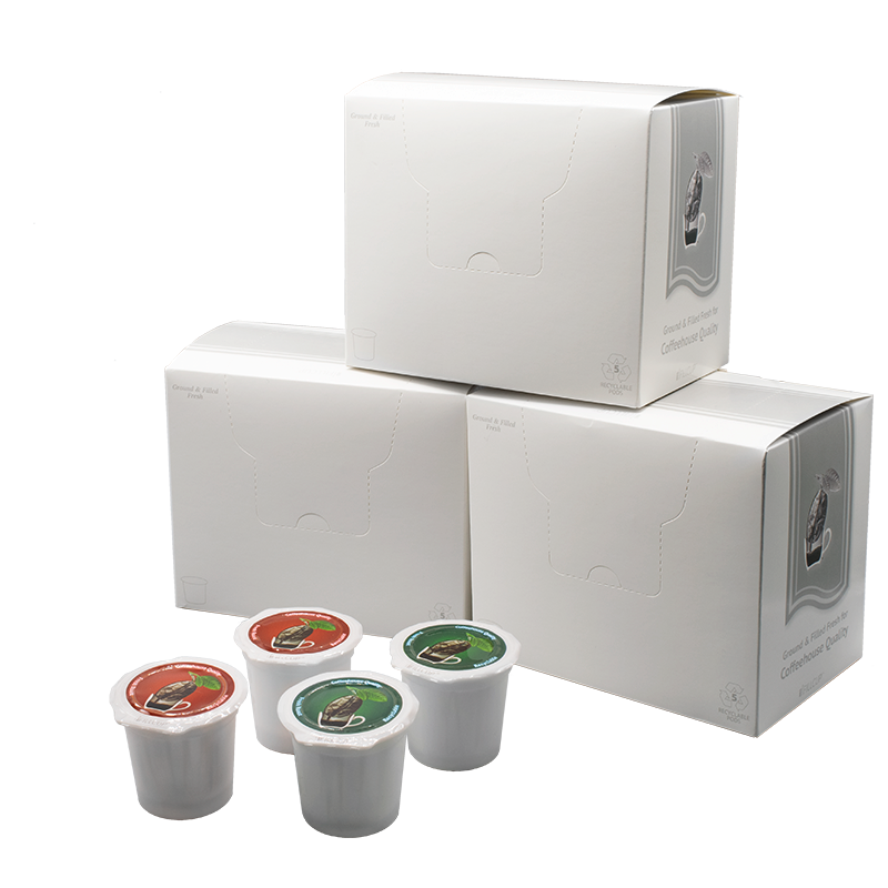 Make your own K Cups with this iFillCup Fillable K Cup Pod Starter Kit