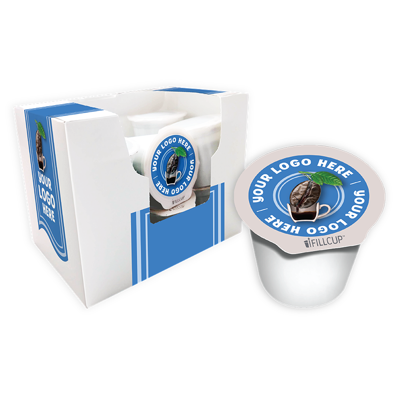 iFillCup Custom Packaging & K Cup Coffee Pods